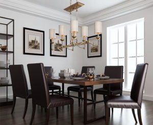 Dinner Table Free 3D Scene