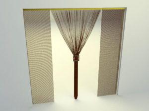 Door Curtains 3D Model