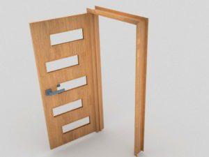 Door interior 3D Model