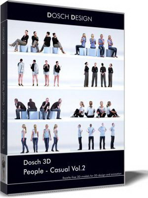 Dosch Design 3D People Sample