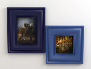 Double Picture Frame 3D Model