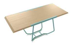 Dual Table 3D Model