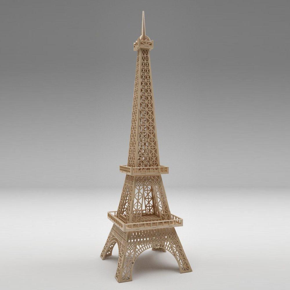Eiffel Tower Free 3D Model