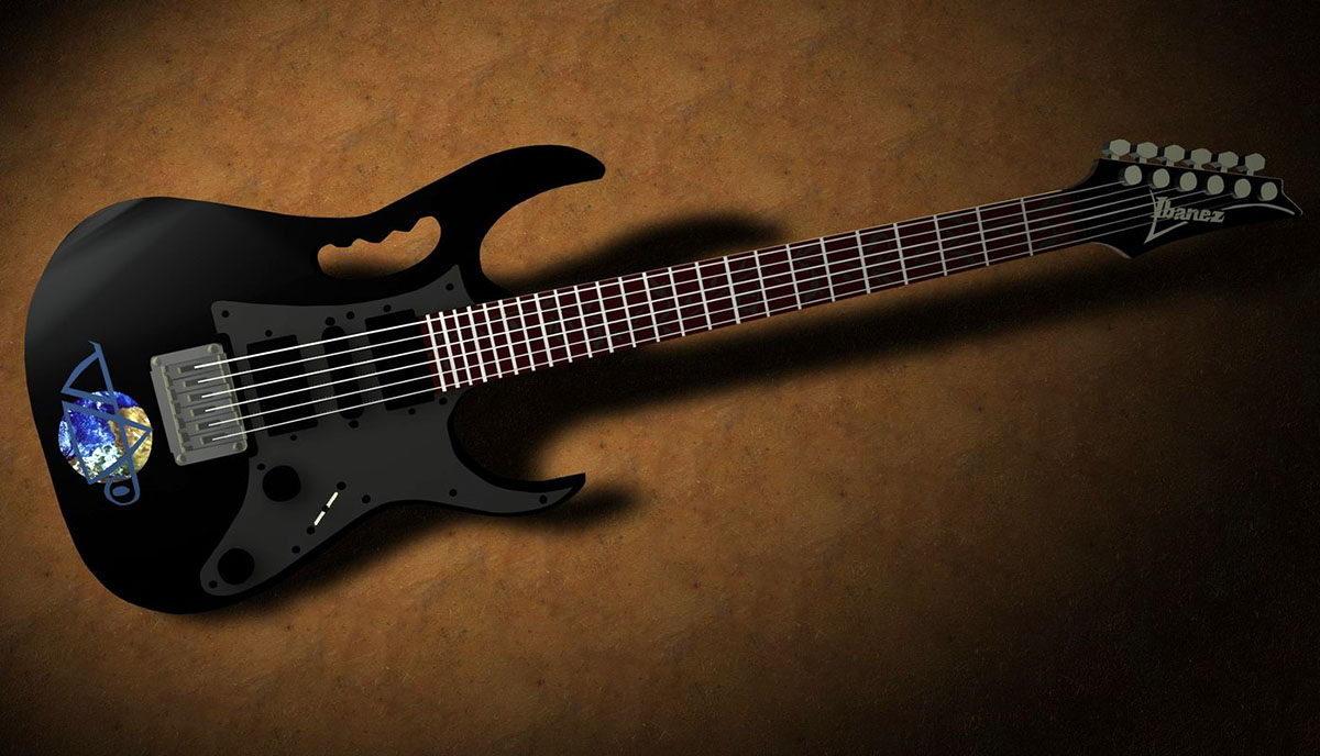 Free 3D Electric Guitar