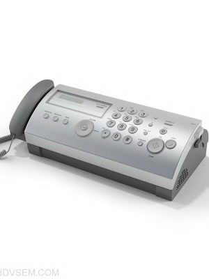 Electronic Fax 3D Model