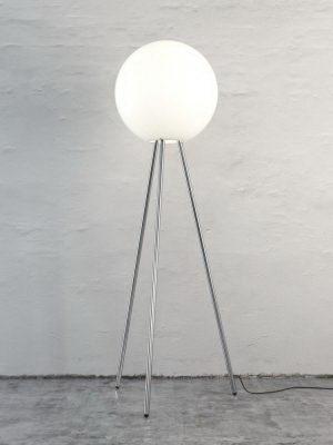 Elegant Roundness Floor Lamp 3D Model