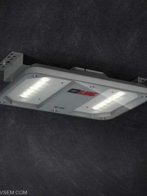 Emergency Ceiling Light 3D Model