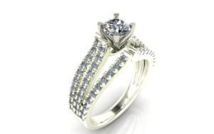 Engagement Ring Diamond Solitaire