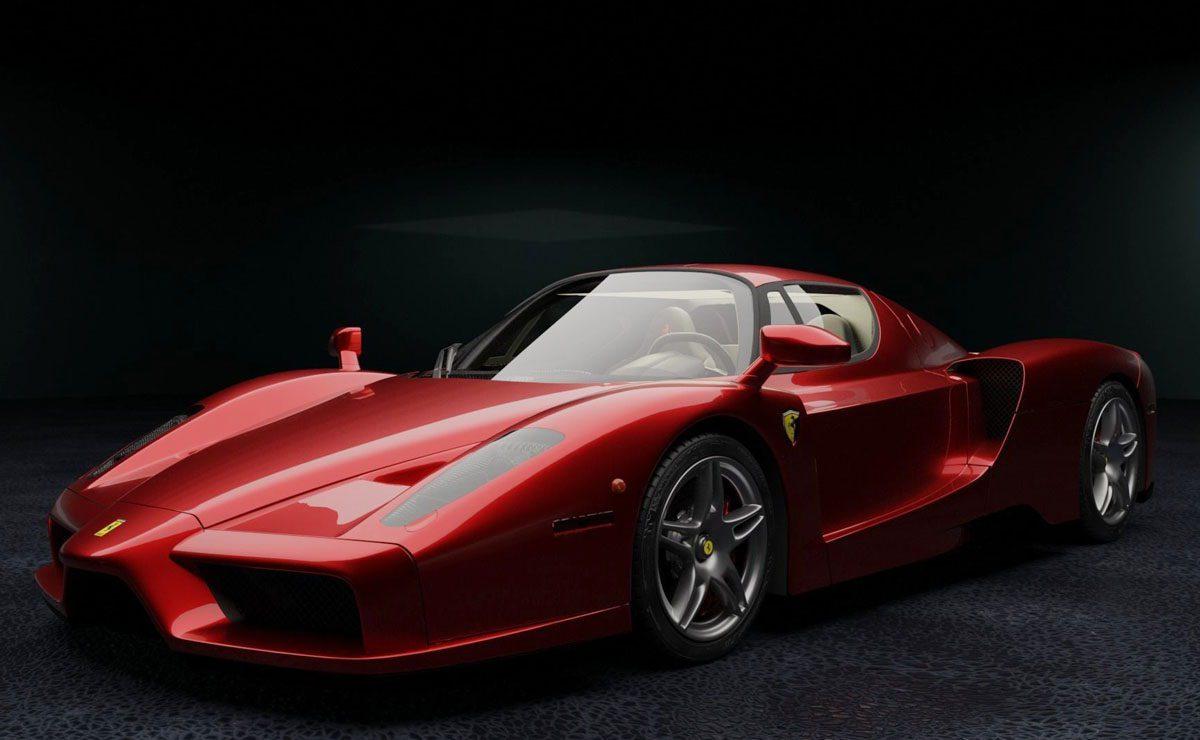 Enzo Ferrari Free 3d Model Free C4d Models
