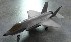 F-35 Lightning Airforce 3D Model