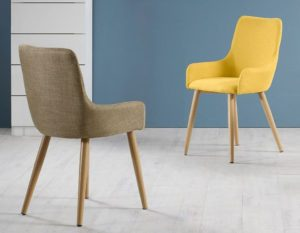 Fabric Dining Chair 3D Model