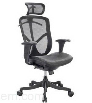 Fabric Office Chair 3D Model