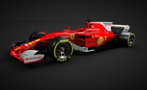 Ferrari Formula 1 Car 3D Model