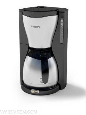 Filter Coffee Maker 3D Model
