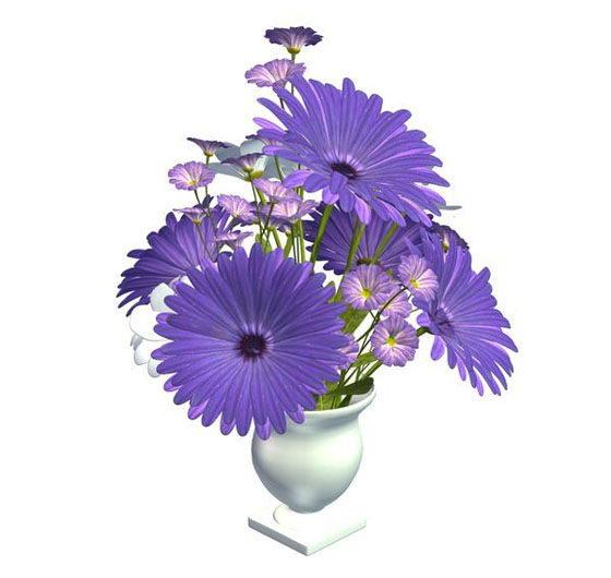 Floral Centerpiece 3D Model