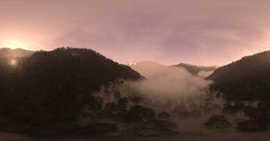 Foggy Sky Free Hdr