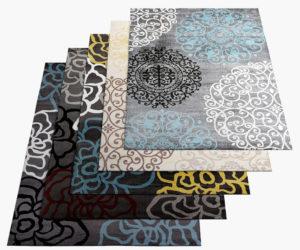 Free 3D 5 Different Carpet Models