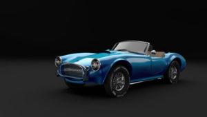 Free 3D Ac Cobra Spider Car Model