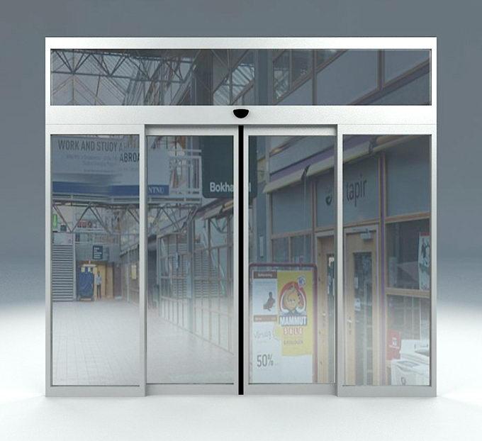 Free 3D Automatic Sliding Door