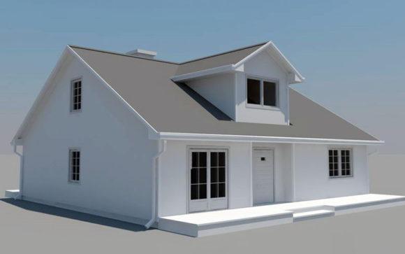 Free Obj Sample House Free C4d Models