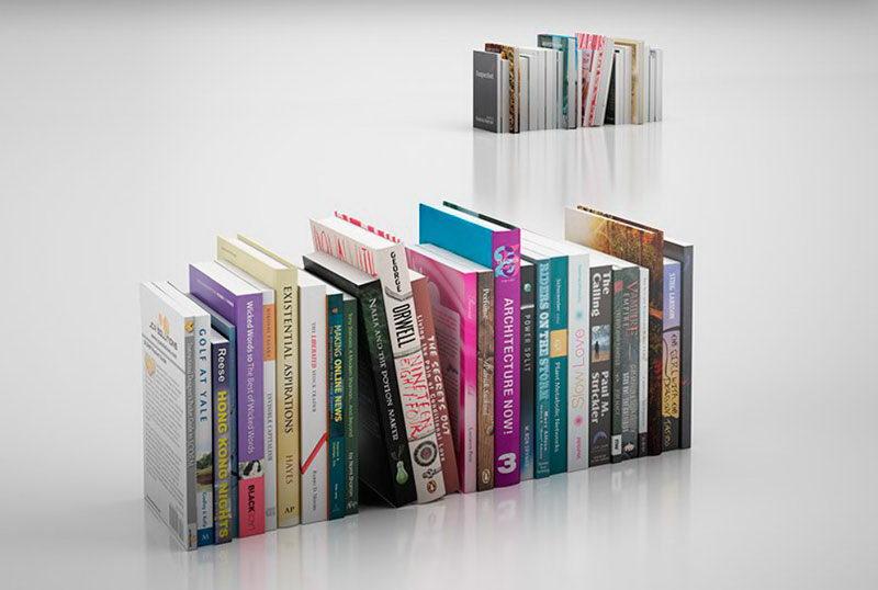 Free 3D Books Model