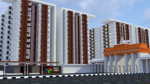 Free 3D Array Buildings Model