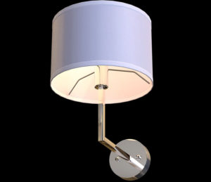 Free 3D Century Wall Sconce Model