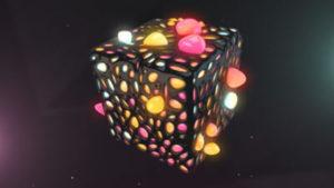 Free 3D Cube Scene