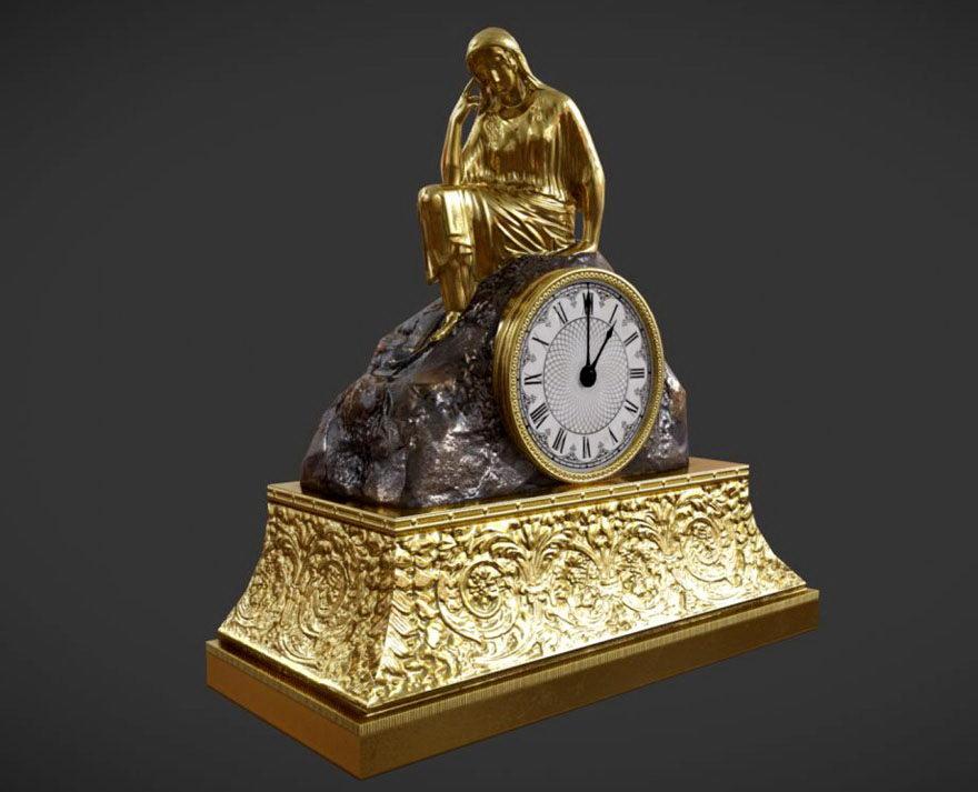 Free 3D Decorative Table Clock