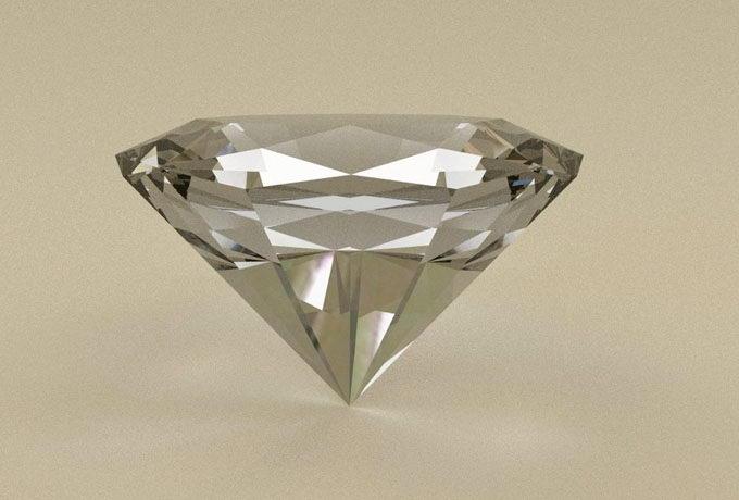 Free 3D Diamond Model