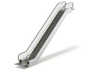 Free 3D Escalator Model