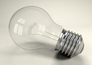 Free 3D Glass Light Bulb