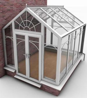 Free 3D Glasshouse Model