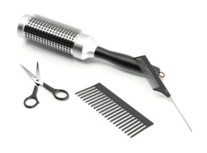 Free 3D Hairdressing Tools Model