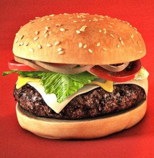 Free 3D Hamburger Model