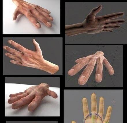 Free 3D Hands Model