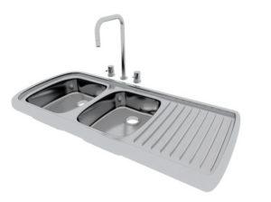 Free 3D Kitchen Sink Model