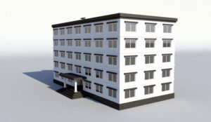 Free 3D Low Poly Building Model