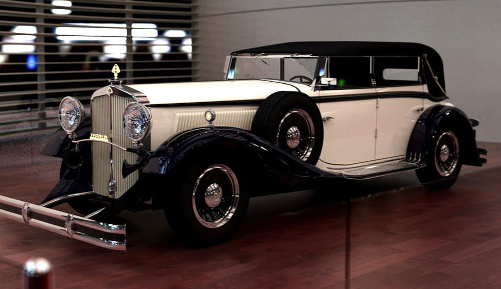 Free 3D Maybach Classic Car DS8
