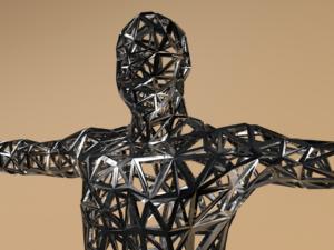 Free 3D Men Body Sculpture Model