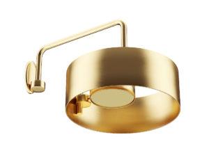 Free 3D Metal Wall Lamp Model