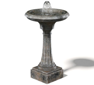 Free 3D Old Fountain Model