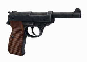 Free 3D Old Walther Pistol Model