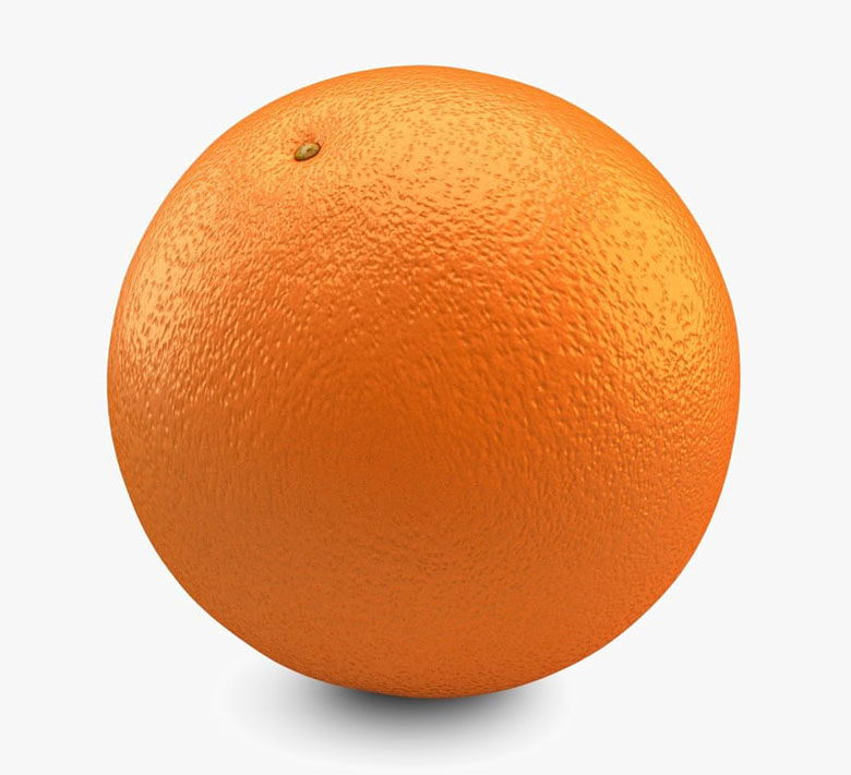 Free 3D Orange Model