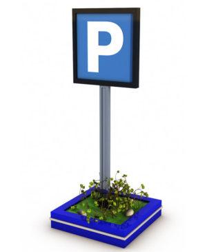 Free 3D Parking Sign Model