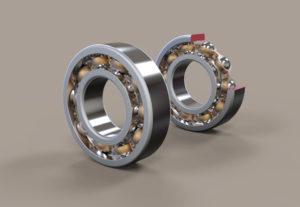 Free 3D Radial Bearing Model