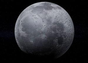 Free 3D Realistic Moon Model