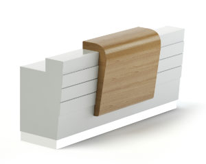 Free 3D Reception Desk Model