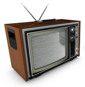 Free 3D Retro Television Model
