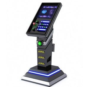 Free 3D Sci-fi Kiosk Panel